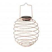 Solar Spiral Lantern - Pink 3