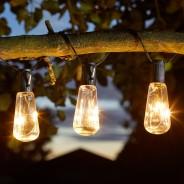 Solar Eureka Vintage Bulb String Lights 2
