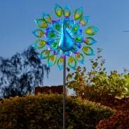 Solar Peacock Wind Spinner 4