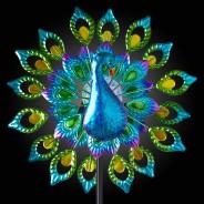 Solar Peacock Wind Spinner 5