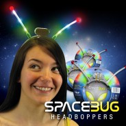 Space Bug Head Boppers 1