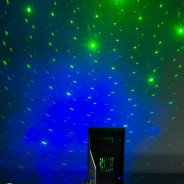 Space Galaxy Laser Projector 1 Star and cloud effect