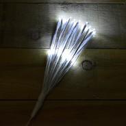 45cm White Sparkle Ball Light 2