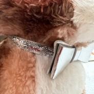 Sparkly Bow Tie Pet Collar 2