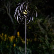 Spiro Wind Spinner with Solar Globe 4