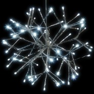 40cm Silver Sputnik LED Light 1