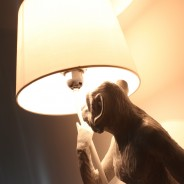 Standing Monkey Table Lamp 7