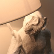 Standing Monkey Table Lamp 1