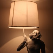 Standing Monkey Table Lamp 2