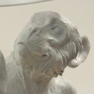 Standing Monkey Table Lamp 8
