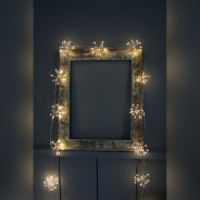 Starburst Silver Fairy Lights 3