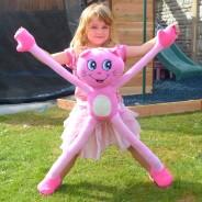 Stretchkins Pink Cat 1