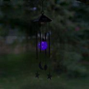 Solar Sun & Moon Wind Chime 2