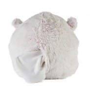 Warmies Supersized Hand Warmer Marshmallow Hamster 4 Removeable microwaveable heat pack