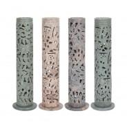 Tall Soap Stone Incense Burner 1