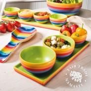 Rainbow Ceramics Tapas Bowl Sets  2
