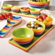 Rainbow Ceramics Tapas Bowl Sets  1