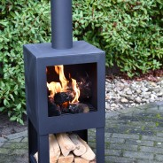 Terrace Outdoor Heater with Woodstore 136cm FF410 2