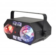 Tetra LED Moonflower Disco Light with Lasers 21