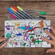 The Doodle Pencil Case - Dinosaur 1
