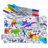 The Doodle Pencil Case - Dinosaur 3