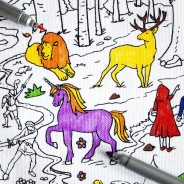 The Doodle Placemat To Go - Fairytales and Legends 4