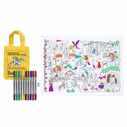 The Doodle Placemat To Go - Fairytales and Legends 6