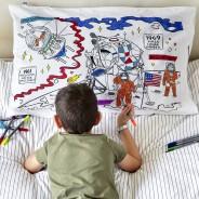 The Doodle Space Explorer Pillowcase 1