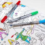 The Doodle Wash Out Fabric Pen Set - Original 1