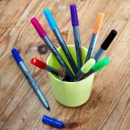 The Doodle Wash Out Fabric Pen Set - Original 2