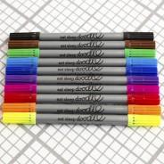 The Doodle Wash Out Fabric Pen Set - Original 4