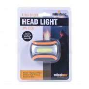 3W Cob Ultra Bright Head Light 6