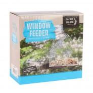 Transparent Window Bird Feeder 3