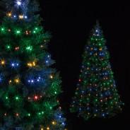 Microbright Tree Net Lights  4 Multi Coloured