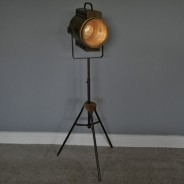 Battery Operated Tripod Floor Lamp 4