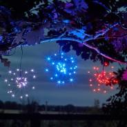 Solar Triple Starburst String Light Dual Colour 2 Colour