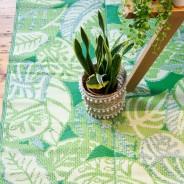 Tropical Palm Leaf Indoor /Outdoor Rug 4