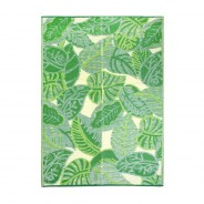Tropical Palm Leaf Indoor /Outdoor Rug 5