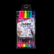 Neon Fabric Markers (6 Pack) 2