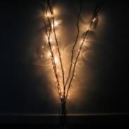 Twig Lights 4 Red/Brown Twig Lights