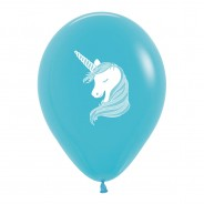 Multi Coloured Unicorn Balloons (25 pack) 5