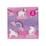 Unicorn Paper Tableware 7 Unicorn paper napkins