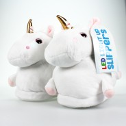 Children's Unicorn Slippers (Size 11-4) 3