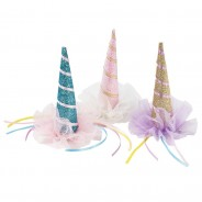 Sparkly Unicorn Party Hats 2