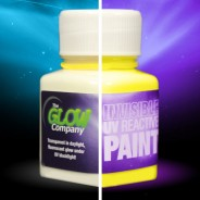 Invisible UV Paint 8 Yellow