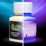 Invisible UV Paint 2 Blue