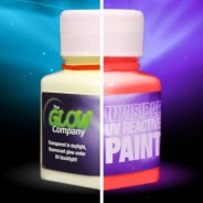 Invisible UV Paint 5 Red