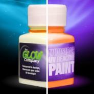 Invisible UV Paint 4 Orange