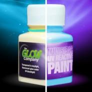 Invisible UV Paint 1 Aqua