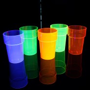 UV Reactive Pint Glasses (6 Pack) 1